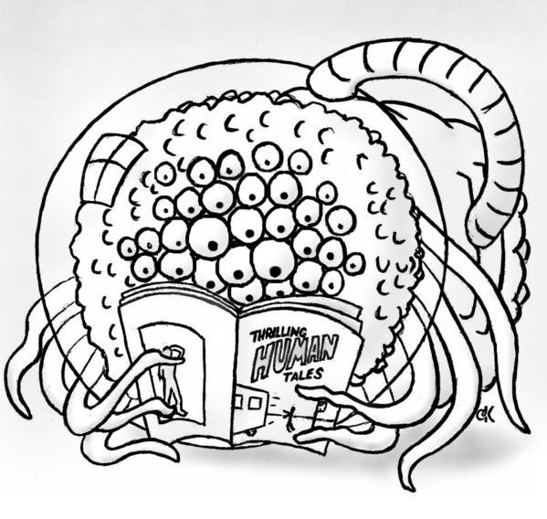 Alieno che legge