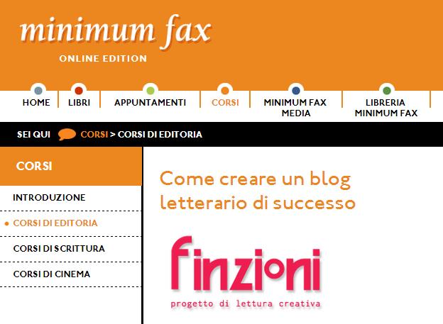Come creare un blog letterario Jacopo Cirillo di Finzioni