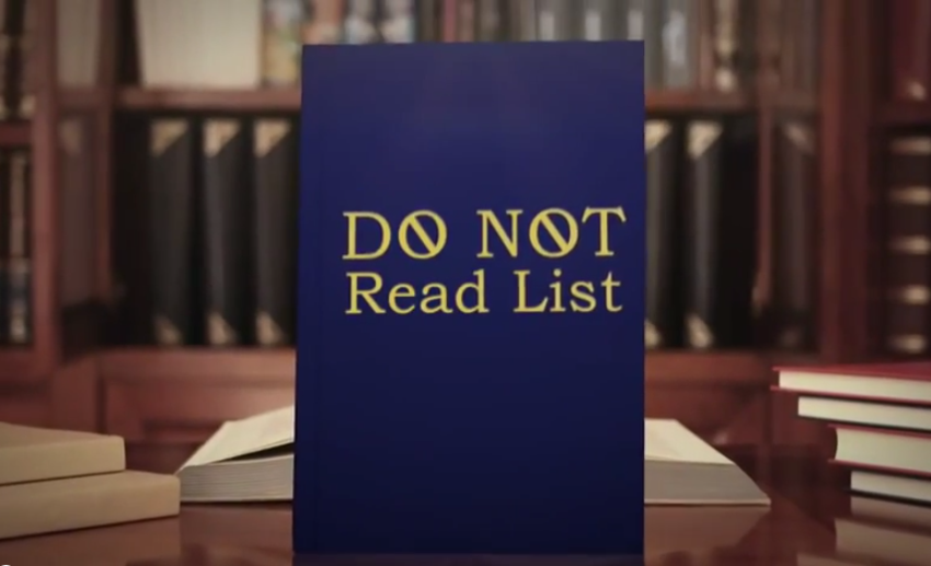 Do not read: imperdibile lista degli orrori