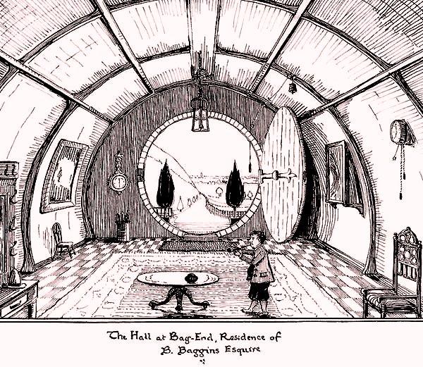 La nascita di Bilbo Baggins