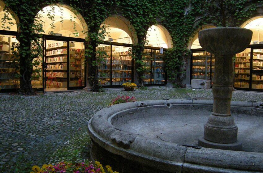 biblioteca_civica_cortile Cuneo Scrittori in città