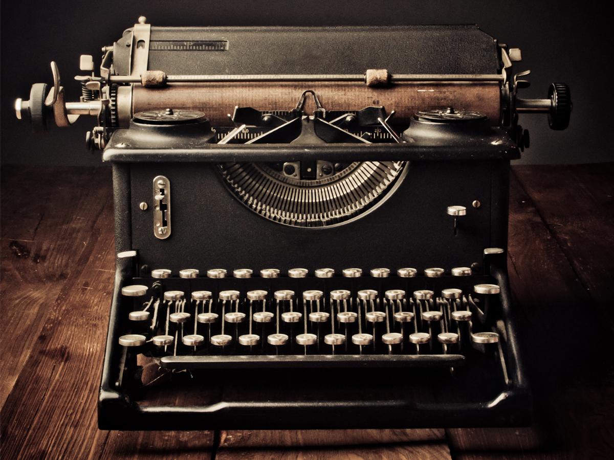 Macchine da scrivere vintage