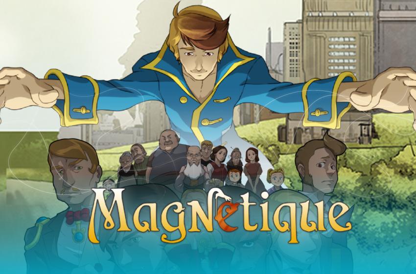 Magnetique: il primo fumetto al mondo in realtà aumentata