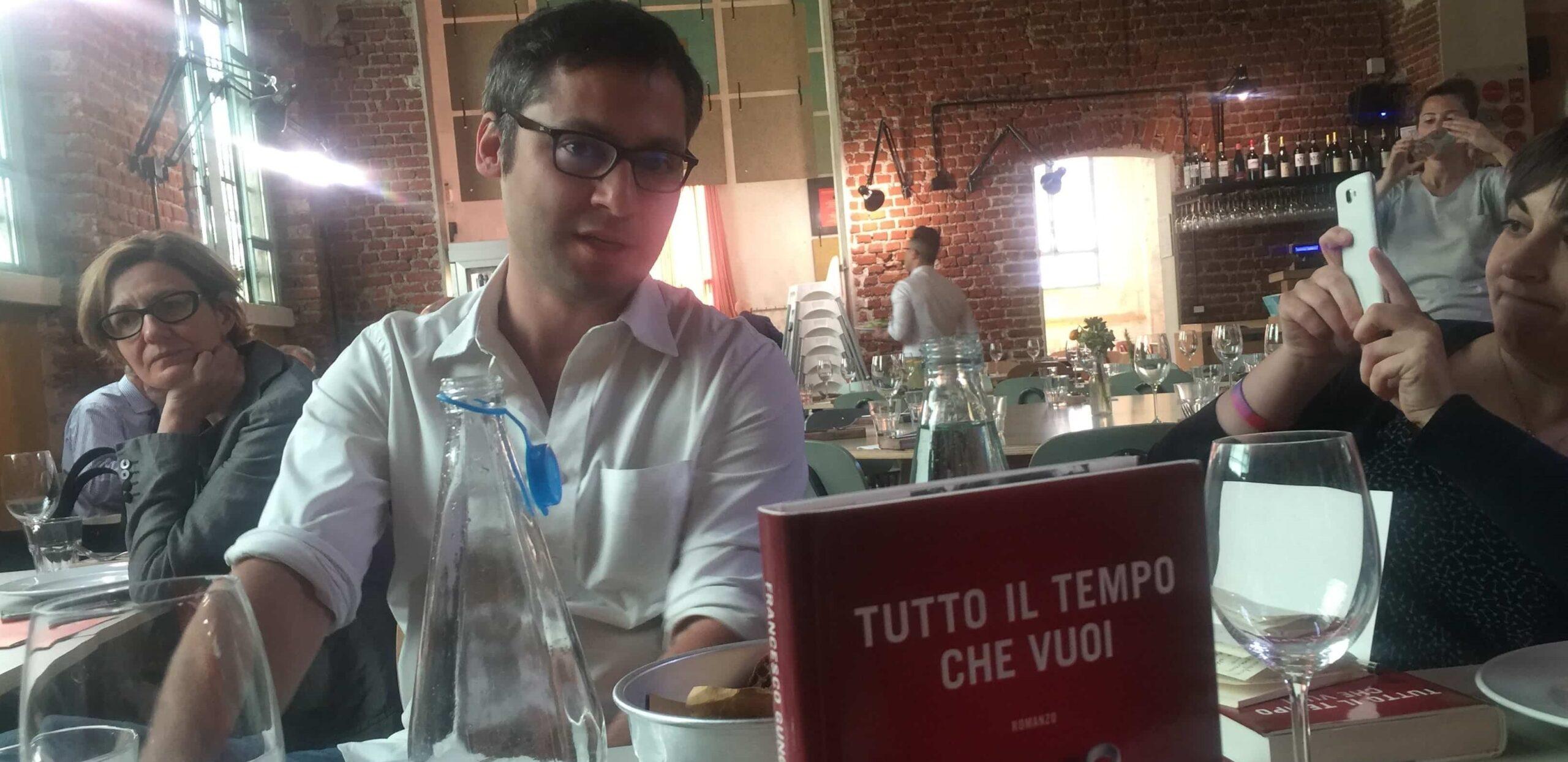 Intervista a Francesco Gungui – Tutto il tempo che vuoi