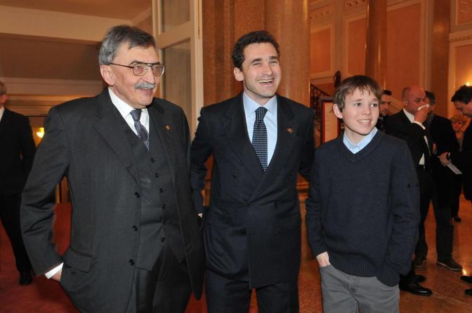 Marsilio Cesare De Michelis, Luca De Michelis e il nipote Cesare