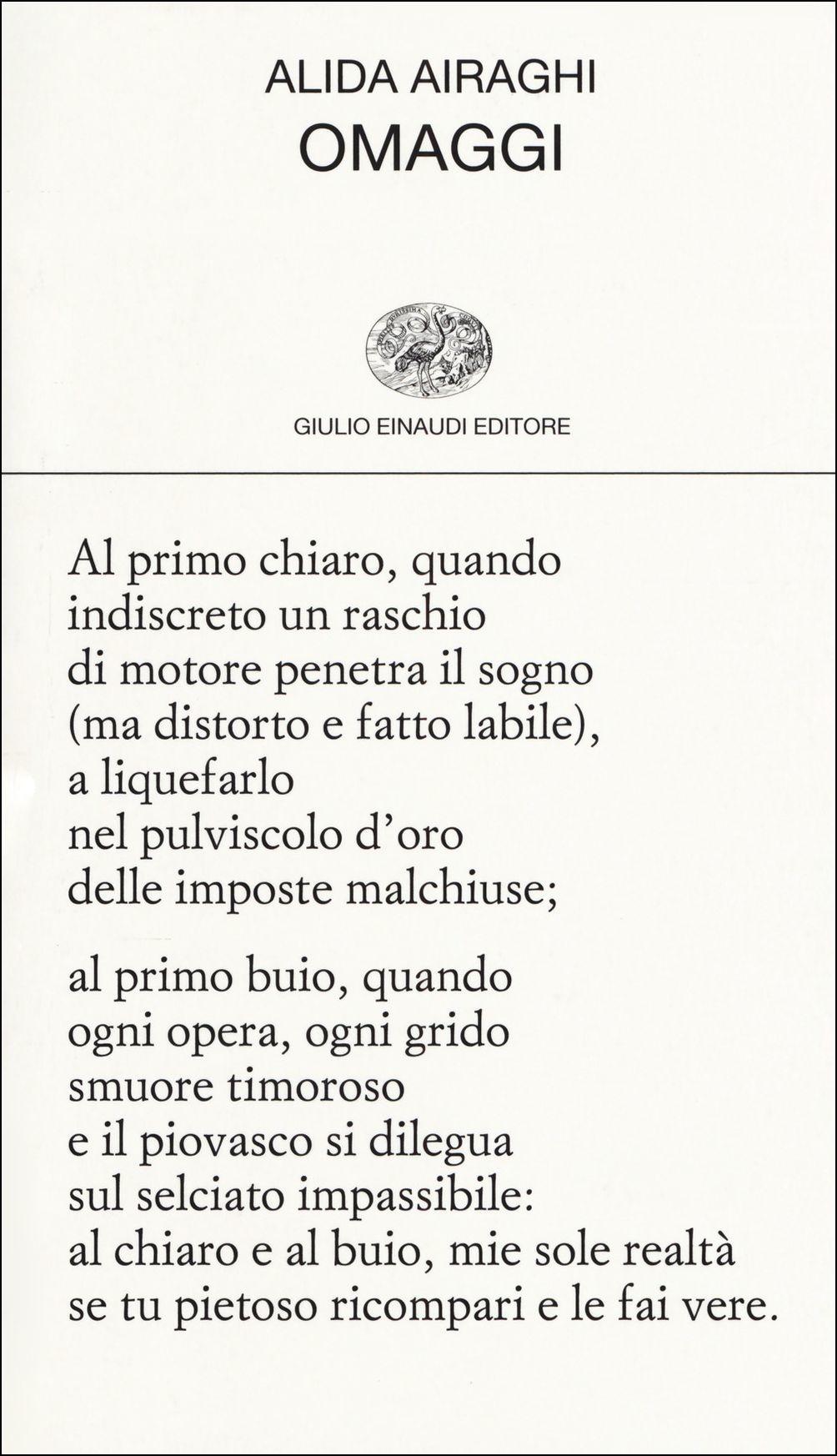 Omaggi - Alida Airaghi - Einaudi