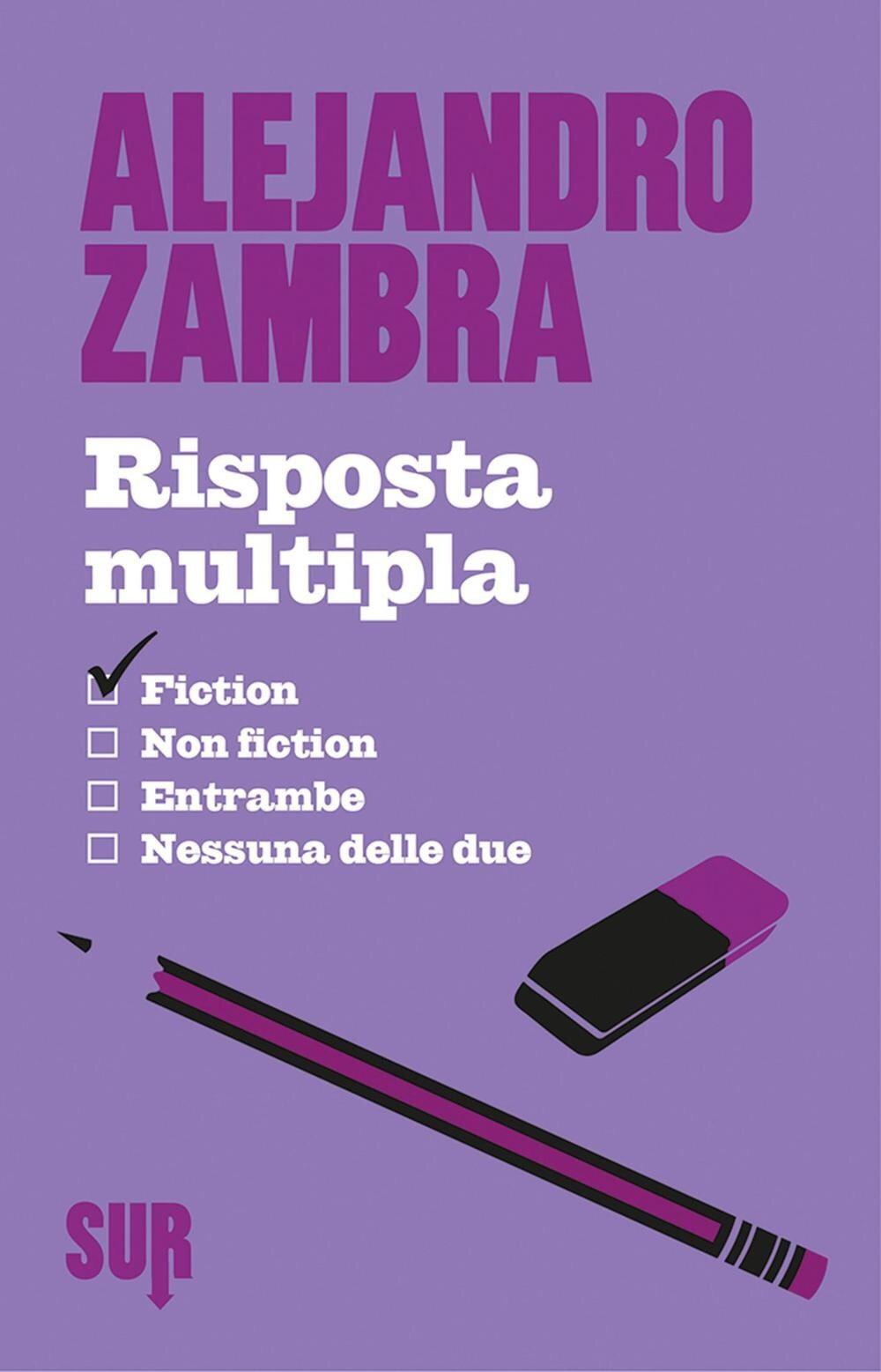 Risposta Multipla – Alejandro Zambra