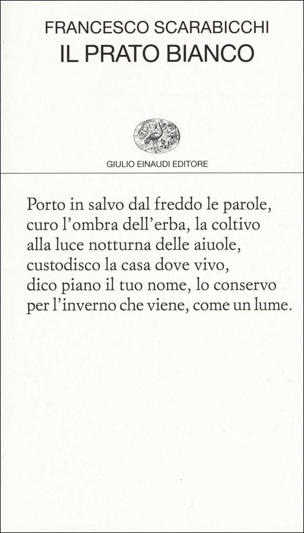 l prato bianco - Francesco Scarabicchi - Einaudi