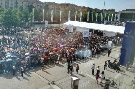 Salone del libro di Torino 2018: code e creditori