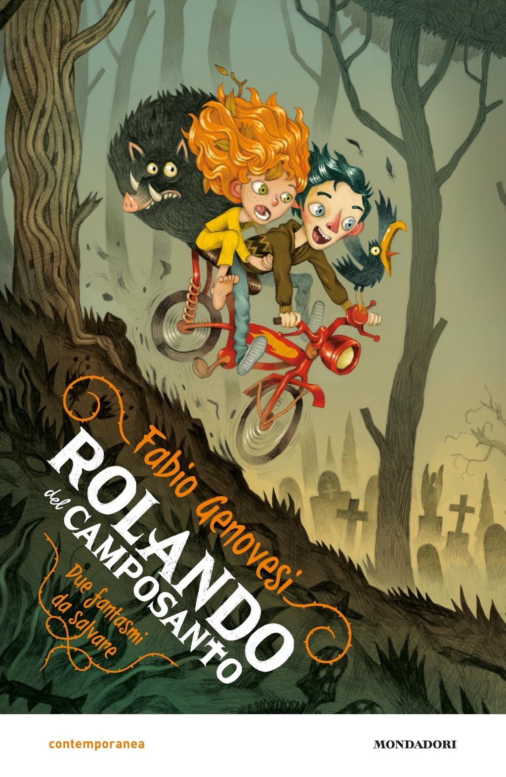 ROLANDO DEL CAMPOSANTO di Fabio Genovesi, illustrazioni di Gianluca Maruotti, Mondadori
