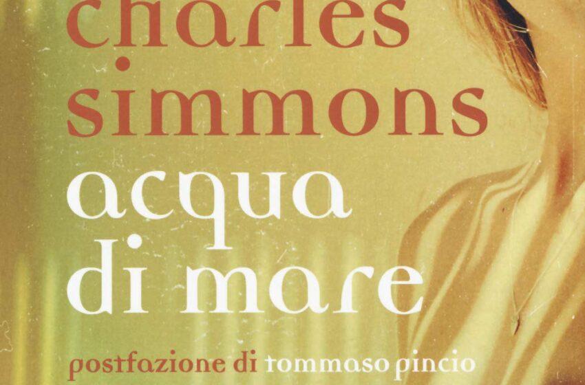 Acqua di mare – Charles Simmons