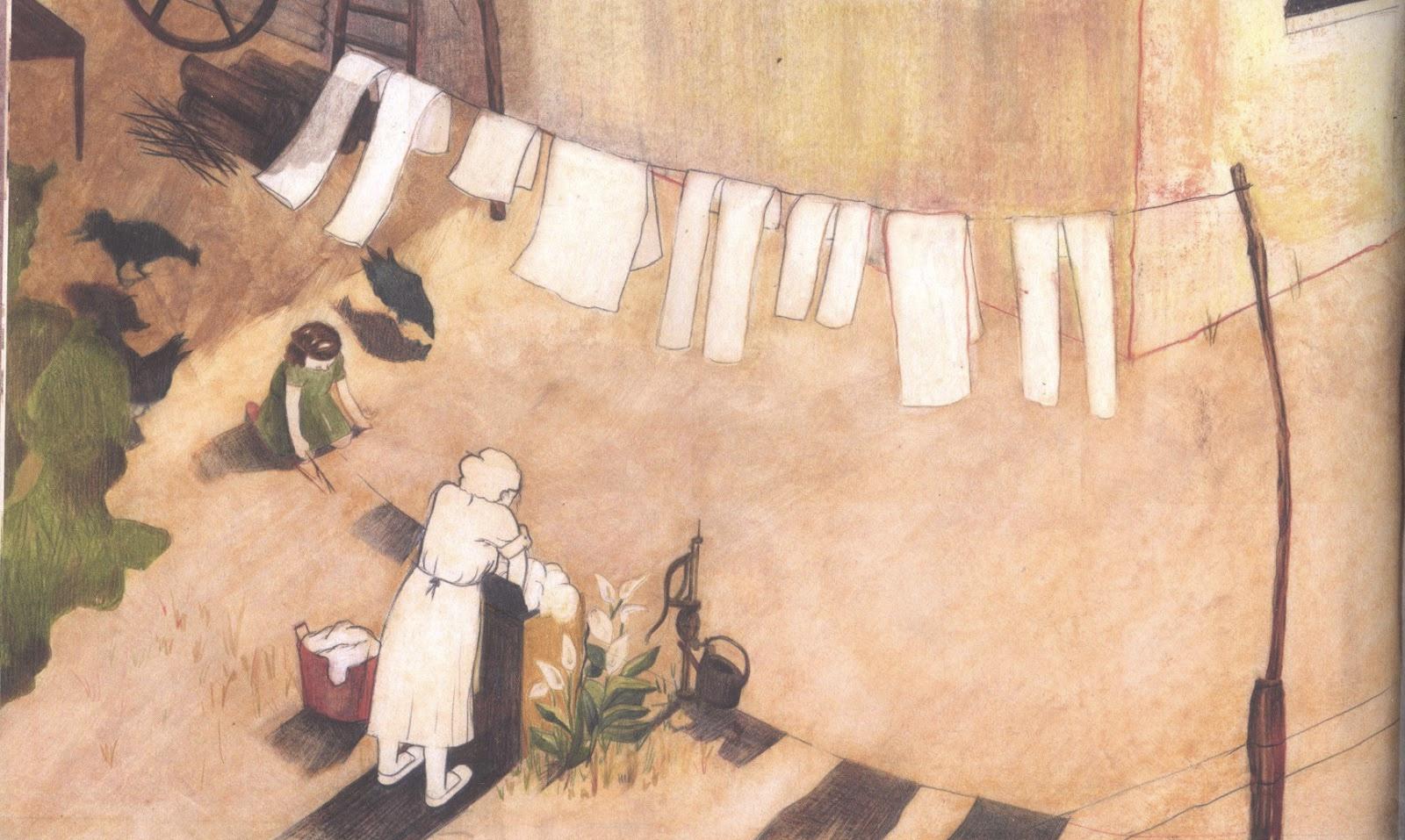 CLARA E L'UOMO ALLA FINESTRA di Maria Teresa Andruetto e Martina Trach, Uovonero, 1